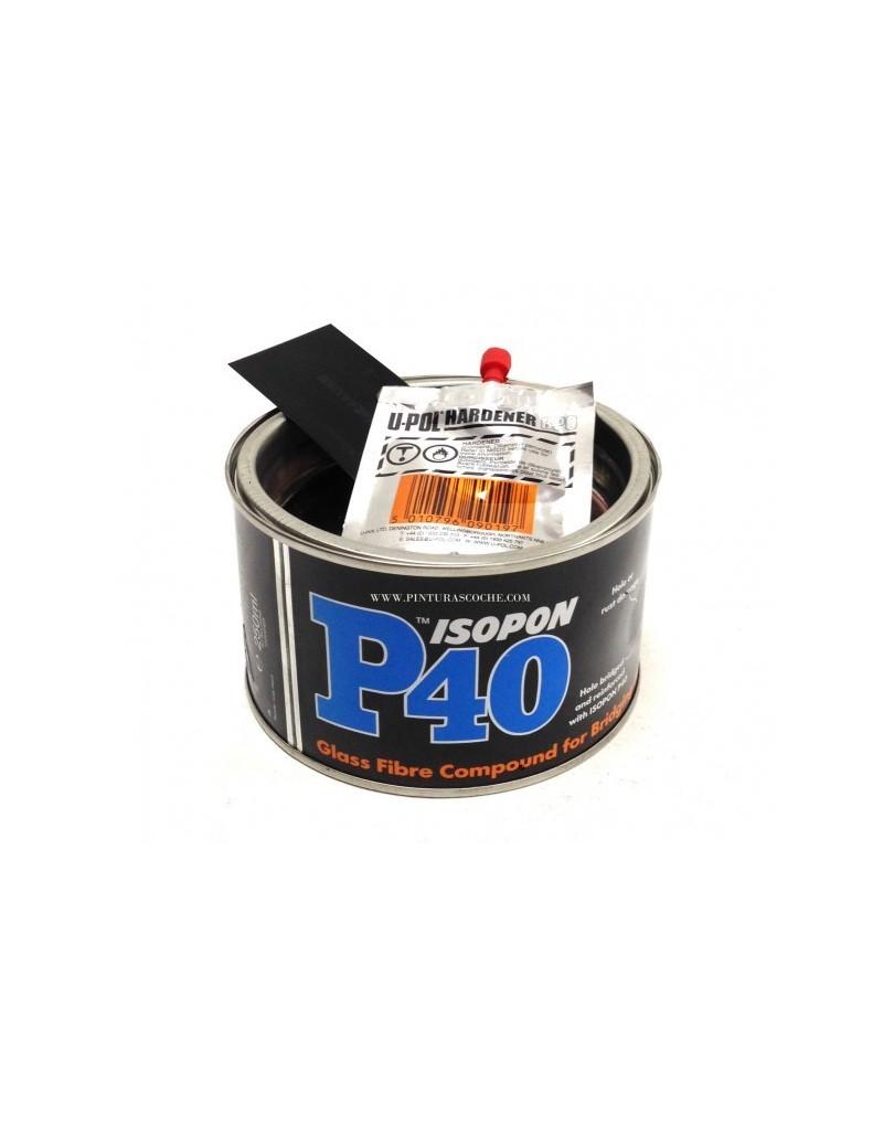 Masilla de fibra de vidrio isopon p40 - Pasta de fibra de vidrio ...
