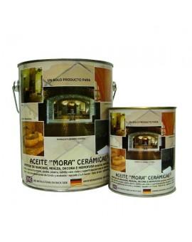 """Aceite """"Mora"""" cerámicas brillo"""
