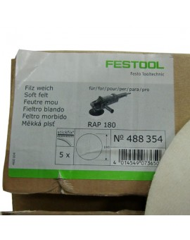 "Disco de fieltro de ""festool"" ref.488354"