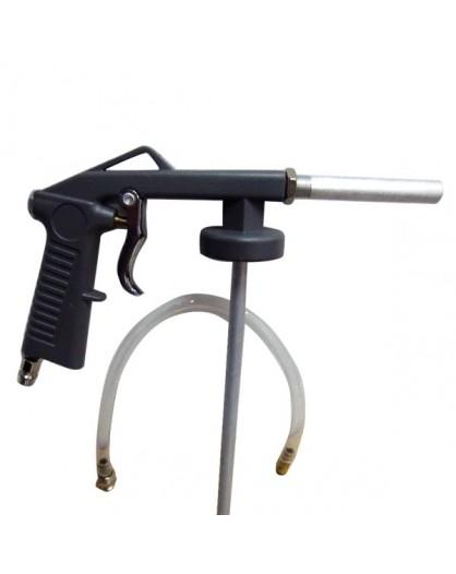 Pistola para antigravilla