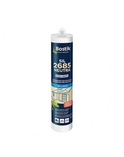 "Silicona Sil 2685 neutra de ""Bostik"""