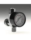 Regulador de caudal de aire con manometro.