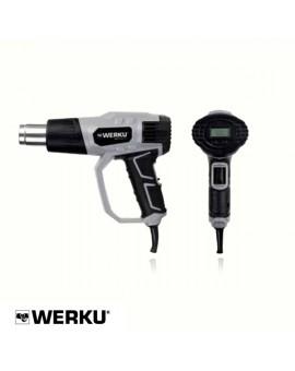 """Pistola de aire caliente digital """"Werku"""""""