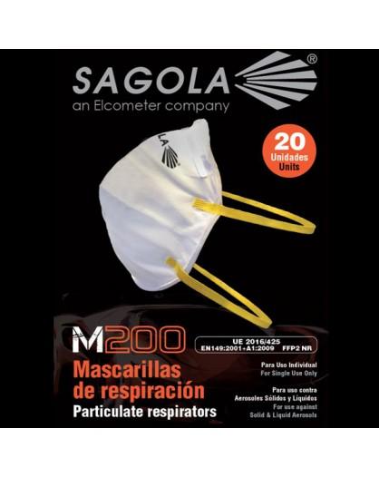 "Mascarilla ""Sagola"" doble capa sin filtro."