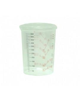 Vaso para mezcla de polipropileno