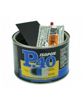 """Masilla de fibra de vidrio""""Isopon"""" P40 1 ltr."""