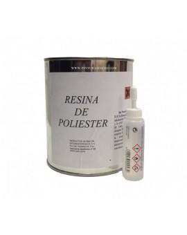 Resina de Poliéster + Catalizador (Peróxido)