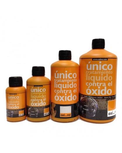 OXI...NO, Único tratamiento líquido contra el óxido