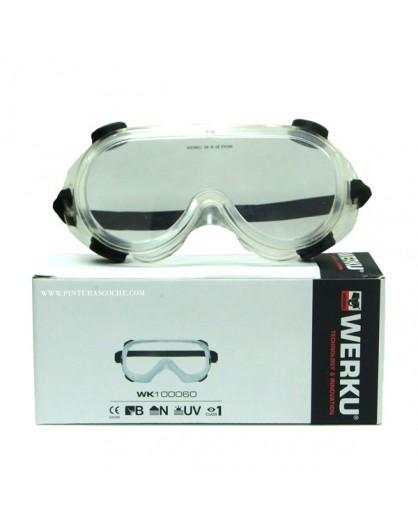 """Gafas de protección anti vaho """"Werku"""" ref: 102710."""