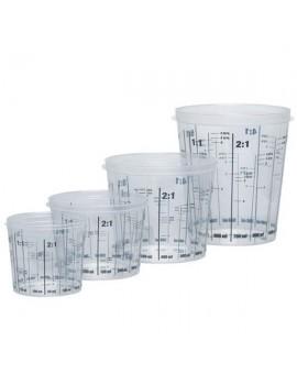 Vaso para mezcla calibrado PP