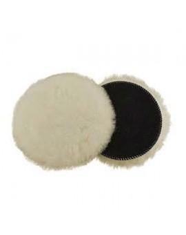 Disco para pulir de lana con velcro