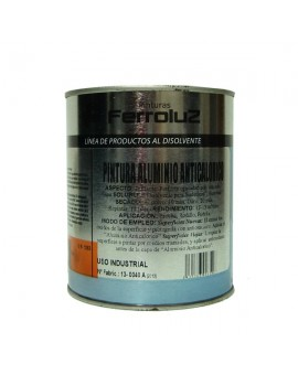 "Pintura aluminio anticalórico ""Ferroluz"""